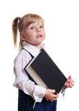Girl with book. Royalty Free Stock Photo