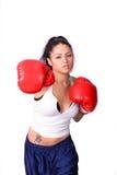 Girl Boxer Royalty Free Stock Photos