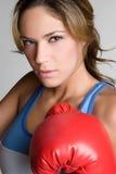 Girl Boxing Stock Photos