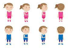 Girl boy Royalty Free Stock Images