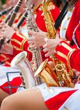 Girl Brass Band Royalty Free Stock Photos