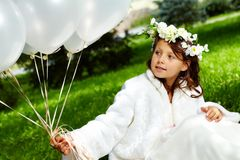 Girl bride Stock Photos