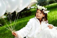 Girl bride Stock Photos