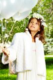 Girl bride Stock Photography