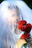 Girl bride Royalty Free Stock Photos
