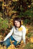 Girl, brunette Royalty Free Stock Photography