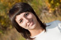 Girl, brunette Stock Image