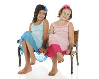 Girl Buddies Royalty Free Stock Image