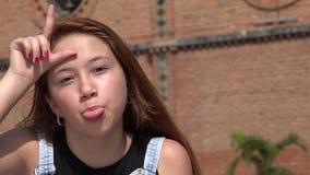 Girl Bullying And Teasing Stock Image