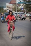 Girl in Cambodia Stock Photography