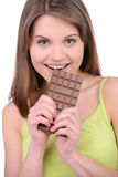 Girl and Candy Royalty Free Stock Photography