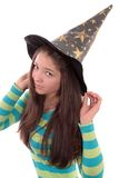 Girl in a cap . Stock Photo