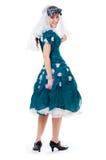 Girl in carnival costume Royalty Free Stock Image