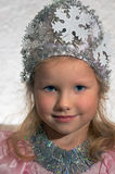 Girl in carnival costume Stock Photos