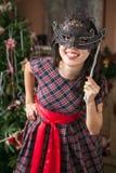 Girl on carnival Stock Photos