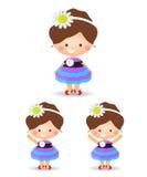 Girl cartoon Royalty Free Stock Image