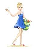 Girl character Stock Photo
