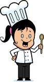 Girl Chef Royalty Free Stock Photos