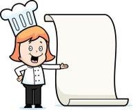 Girl Chef Stock Photo