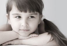 Girl child Royalty Free Stock Images