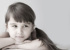 Girl child Stock Photo