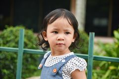 Girl child Stock Images