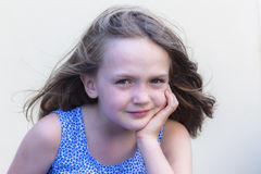 Girl Child Character Royalty Free Stock Images