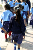 Girl Child Education Royalty Free Stock Images