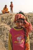 Girl Child in India Royalty Free Stock Photo