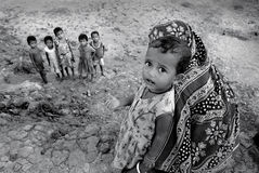Girl child in India Royalty Free Stock Photography