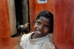 Girl Child in India Stock Images