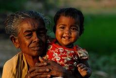 Girl Child in India Stock Image