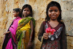 Girl child in India Royalty Free Stock Images