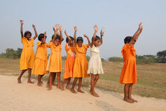 Girl Child In India Stock Photography