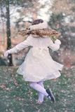 Girl, Child, Playing, Dancing Royalty Free Stock Photography