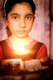 Girl child praying Royalty Free Stock Photos