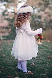 Girl, Child, Winter, Bell Stock Photography