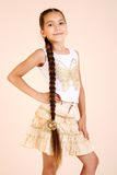 Girl. Choldren in the studio Royalty Free Stock Photography
