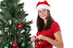 Girl christmas Royalty Free Stock Photos