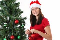 Girl christmas Royalty Free Stock Photos