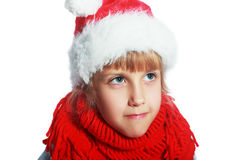 Girl on christmas Royalty Free Stock Photography