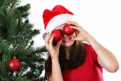Girl christmas Stock Photo