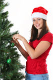 Girl christmas Royalty Free Stock Image