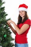 Girl christmas Royalty Free Stock Image