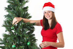 Girl christmas Royalty Free Stock Photo