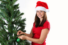 Girl christmas Royalty Free Stock Images