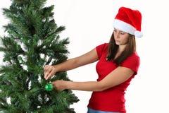 Girl christmas Royalty Free Stock Photo