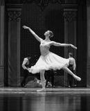 The girl Clara dream-The Ballet  Nutcracker Royalty Free Stock Photo