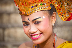 Girl during a classic national Balinese Stock Photo