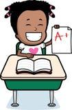 Girl Classroom Royalty Free Stock Image